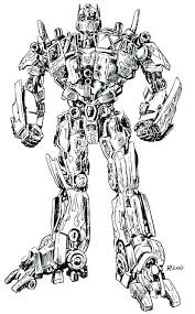 Optimus Prime Coloring Pages Prime Coloring Page Transformers Pages