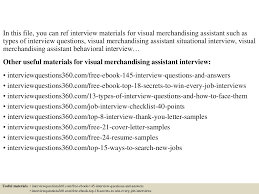 top visual merchandising assistant interview questions and top 10 visual merchandising assistant interview questions and answers documents tips sharing is our passion
