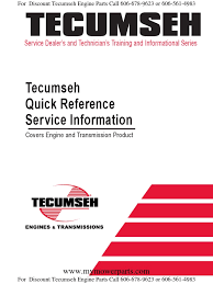 tecumseh quick reference and troubleshooting for engines and  at Wiring Diagram For A Hm80 100 Low Oil Shutdown Switch