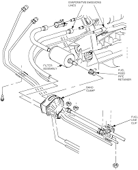 1 exploded view of the fuel filter assembly
