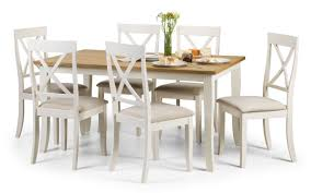 julian bowen davenport oak and white dining table and chairs set 299 beds direct warehouse gainsborough lincolnshire