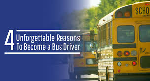 4 unforgettable reasons to bee a bus driver