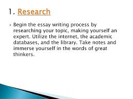 10 Steps To Writing An Essay How To Write An Essay 10 Steps Ppt Download