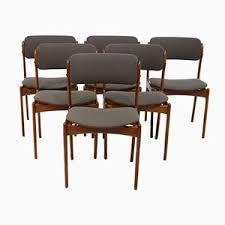 teak dining chairs by erik buch for oddense maskinsnedkeri a s 1960s set