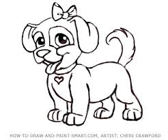 Small Picture dogs to draw How to Draw a puppy Face Step 9