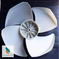 Cánh quạt Trắng ĐK 40cm thuận chiều thay thế cho quạt điều hòa hơi nước cấu  tạo motor trước cánh