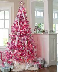 christmas trees decorated pink. Exellent Trees 20 Awesome Pink Christmas Tree Ideas With Trees Decorated T