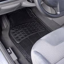 rubber floor mats car. Plain Floor Auto Vehicle Floor Mat Full Set Ridged Antislip Universal Car Fit Front  Rear 4 And Rubber Mats I