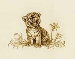 baby tiger drawing tattoo. Perfect Baby Tiger Cub 2 By EsthervanHulsen On DeviantArt To Baby Drawing Tattoo Pinterest