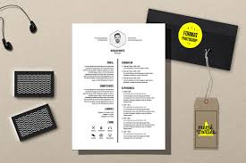 White Resume Template Photoshop Resume Templates Creative Market