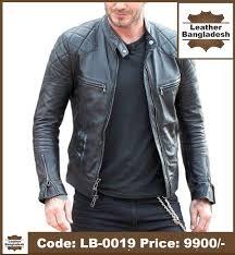 david beckham style pure leather jacket 1