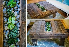 Planter coffee table Warren Platner Diy Coffee Table Np Dodge 15 Diy Coffee Table Ideas Personalize Your Living Room