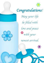 Congratulations On Your Baby Boy Free Printable Baby Cards My Free Printable Cards Com Free