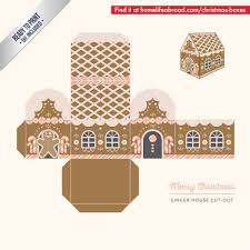 Mega Collection Of 38 Cut Out Christmas Box Templates Part 3