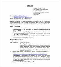Resume Fresher 30 Fresher Resume Templates Pdf Doc Free