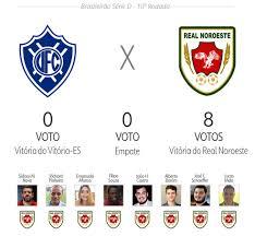 Palpite ge Espírito Santo: veja as apostas para Vitória-ES x Real Noroeste,  pela Série D | brasileirão série d