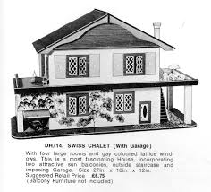 geebee dh14 swiss chalet with garage as shown in a j gardner stratford ltd s toy whole catalogue for 1972 73 london