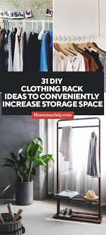 Decorate Your Own Clothes 31 Diy Clothing Rack Ideas To Conveniently Increase Storage Space
