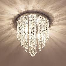 lifeholder mini chandelier crystal chandelier lighting 2 lights flush mount ceiling light crystal chandelier lighting m73