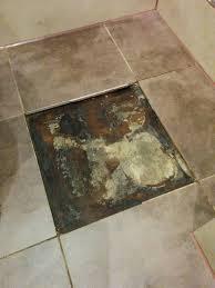 how to repair leak mould under bathroom floor tile black mould under vinyl flooring