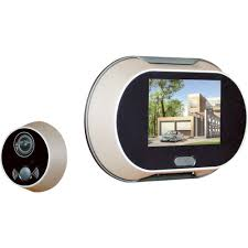 front door video cameraAttractive Front Door Peephole Camera Sunforce Peephole Door