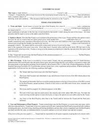 Size 4 to 6 pages. 20 Commercial Lease Agreement Examples Pdf Word Examples