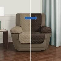cover furniture. Product Image Mainstays Reversible 3 Piece Microfiber Recliner Chair Furniture  Cover Protector, Brown / Tan Cover Furniture