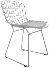 bertoia wire chair. Harry Bertoia Style | Wire Dining Side Chair Coloured SWIVELUK.COM A