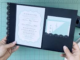hack an envelope into a wedding invitation pocketfold print