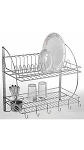 Kitchen Rack Buy Silver Stainless Steel Kitchen Rack Online At Low Prices In