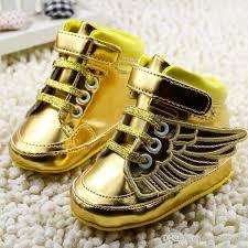 baby boy shoe size 3 2018 wholesale gold princess shoes sequins bowknot toddler shoes