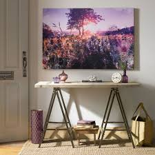 on graham brown lavender sunset wall art with layered landscape printed canvas wall art grahambrownrow