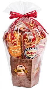 fathers day popcorn gift basket