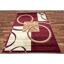 great wonderful red 8 x area rugs the home depot throughout in and brown decor