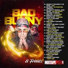 trap reggaeton flyer bad bunny friends mixtape reggaeton trap latin puerto rico cd new