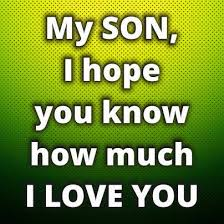 I Love My Son Quotes Beauteous I Love My Son And Daughter Quotes
