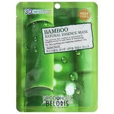 <b>Тканевая 3D маска с</b> экстрактом бамбука (FoodaHolic) купить в ...
