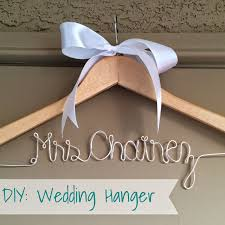 diy hangers with names on it for weddings diy wedding hang on the name of personalized