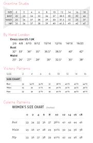 All Inclusive London Dress Company Size Chart London