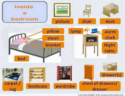 Bedroom Furniture Vocabulary English Ayathebookcom