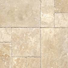 W MSI Beige Pattern HonedUnfilledChipped Travertine Floor And Wall Tile 1  Kit