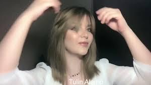 طريقة قص غرة مدرجة مع تولين آل عمو Haircut By Tulin Alamo