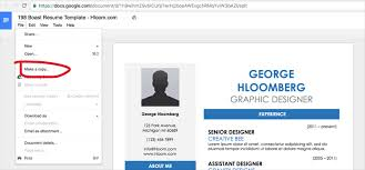 Google Resume Templates Inspiration 28 Google Docs Resume Templates [28% Free]