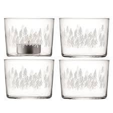 <b>Набор из 4 подсвечников</b> Fir 6 см из выдувного стекла — купить ...
