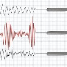 Chart Marking In Polygraph Polygraph Stock Icon Royalty Free Polygraph Logo Vectors