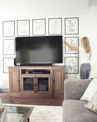 Images interior design tv Unit Wall Decor Tips For Around Tv My Amazing Things Creative Ways To Decorate Around Your Tv Tuft Trim