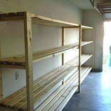 diy wood storage shelves how to build sy shelves building wood