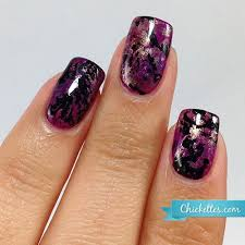 gel nail designs for fall 2014. chickettes.com - purple turquoise gel nail art inspired by nails miriam elizabeth designs for fall 2014