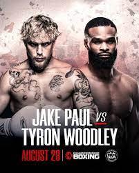 Jake Paul besiegt Tyron Woodley