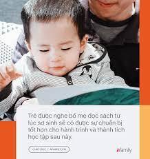 Đọc sách cùng bố mẹ - Trải nghiệm đầu tiên của trẻ về hạnh phúc